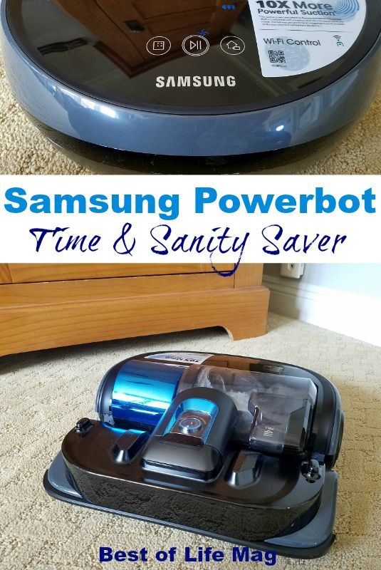 The Samsung Powerbot Essential WiFi Robot Vacuum is a time and sanity saver that everyone can appreciate regardless of how busy life is.