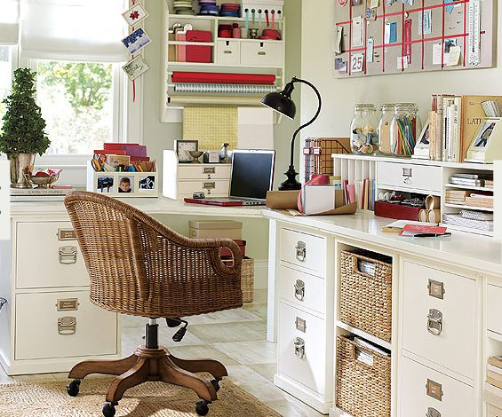 This would also be the perfect room to do crafts ikea for Office craft room design ideas