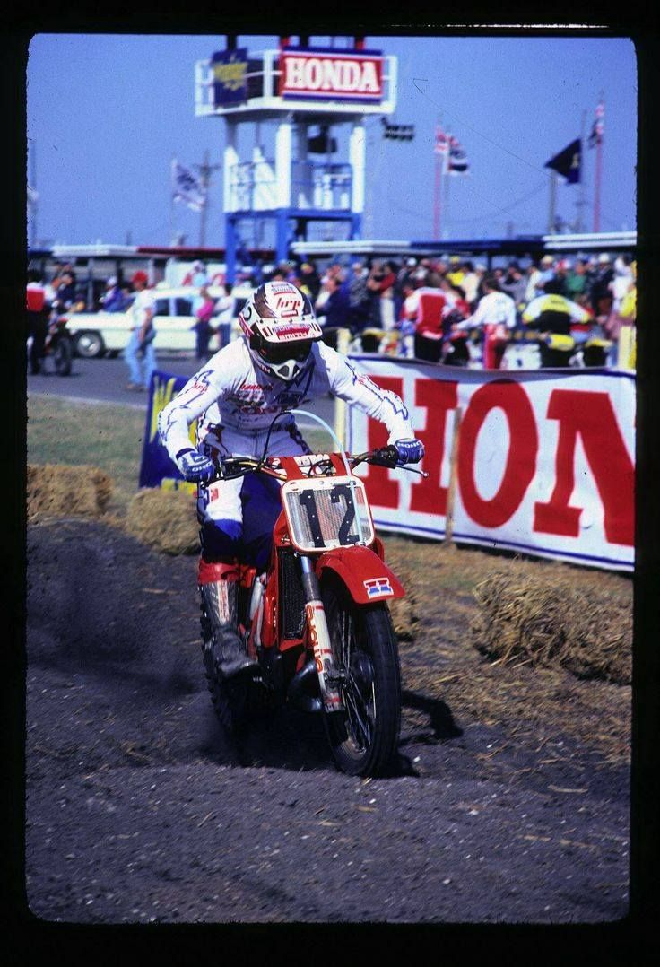 Vintage motocross number plate graphics - My Favorite Pics Of The Hurricane Bob Hannah Moto Related Motocross Forums Message Boards Vital Mx