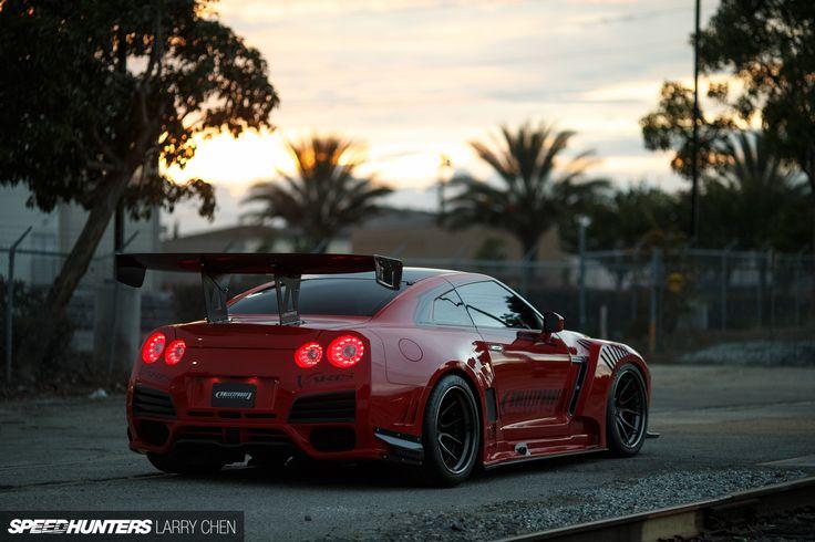 Larry Chen - Speedhunters Bulletproof GTR-35 Carros Pinterest - k amp uuml chen luxus design