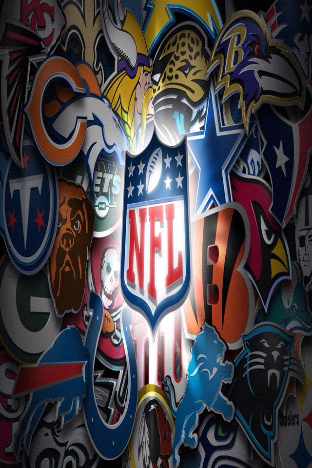 Perfect, amazing collage Nfl teams logos, Football