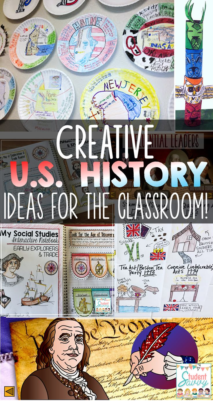 United States History Activities That Your Students Will Love!