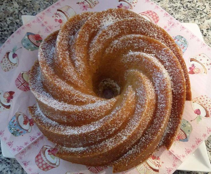 Rezept Vanille-Sahne-Guglhupf (TM31 + TM5) von Thermifee - Rezept der Kategorie Backen süß
