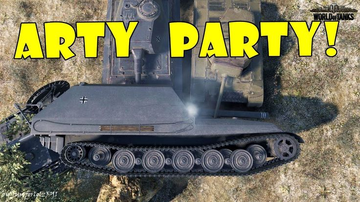 World of Tanks - Funny Moments | ARTY PARTY! #32