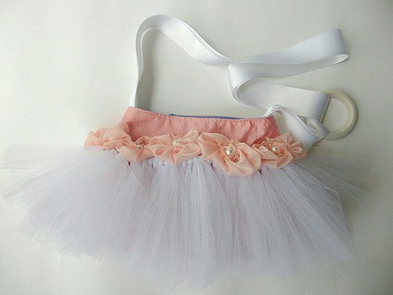 Sweetest ballet style handbag / tule tutu / by RawCottoncollection