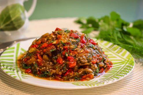 Ассорти-салат из запеченных овощей