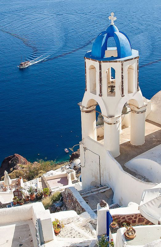 Santorini , Greece  http://www.yourcruisesource.com/two_chefs_culinary_cruise_-_istanbul_to_athens_greek_isles_cruise.htm