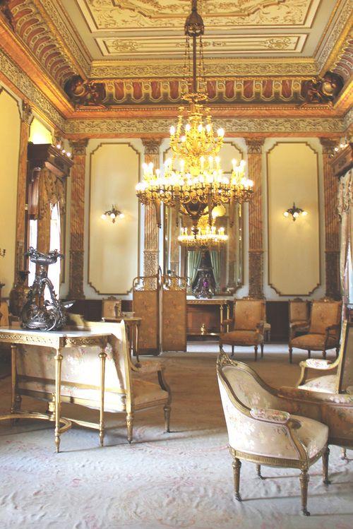 Salon dentro del Castillo de Chapultepec. Ciudad de Mexico.