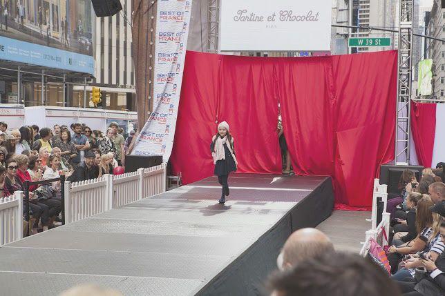 #catwalk #fashionshow #NYC #tartineetchocolat