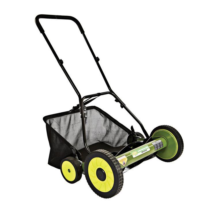 Sun Joe 20-in Reel Lawn Mower