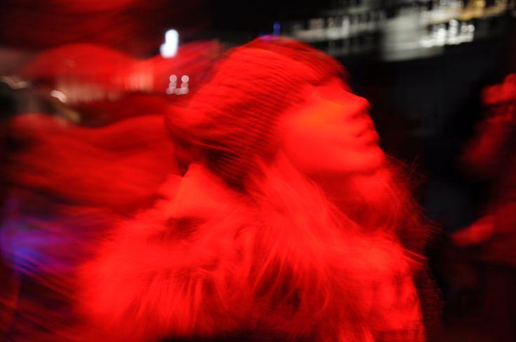 Lux Helsinki: a girl in Kinsei & Aake Otsala: Time Lapse Plant