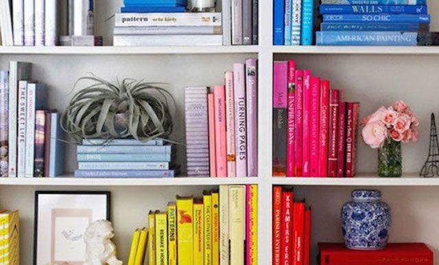 come organizzare e ordinare i libri