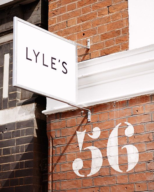 exterior of lye's in shoreditch, london. / sfgirlbybay