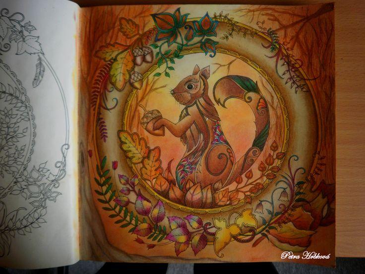 Johanna Basfors Enchanted Forest a prismacolor