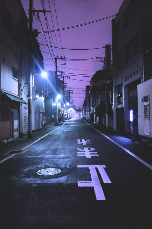 Imagem de street, purple, and grunge