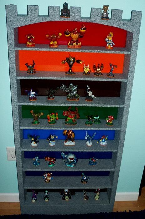 Good Custom Sklyander Castle Shelf   Elemental Version. $250.00, Via Etsy.