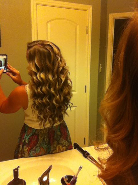 Love my new curling wand!