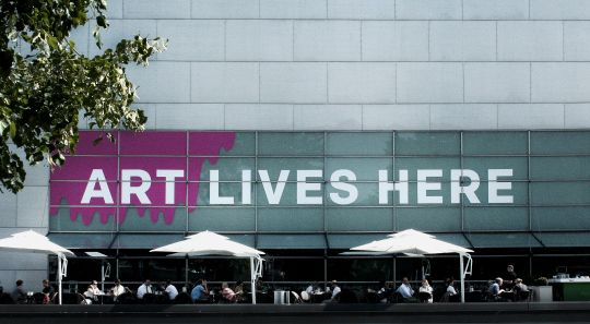Art lives here. Designing the wall of Kiasma, Museum of Contemporary Arts
