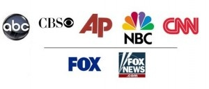 Study: Fox News shunned at Obama press conferences, 9th among news outlets