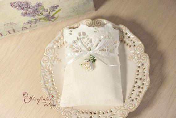 Lace romantic bagsvintagespecial present by JozefinkaBoutique