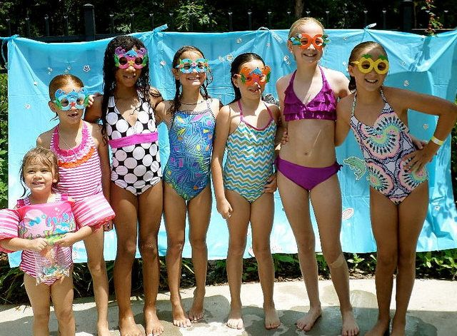Pool Party Ideas For Kids Girls Dollar Stores