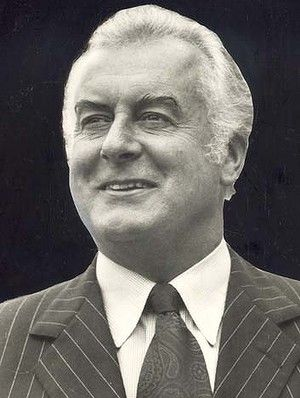 Gough Whitlam- Austrlian Prime Minister, forward thinker, man of courage and commitment. You will be missed:)