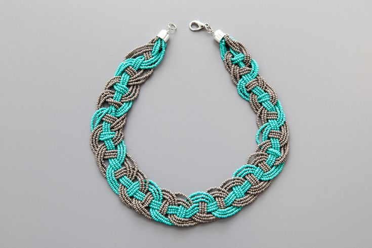 How To Make This Woven Bead Statement Necklace