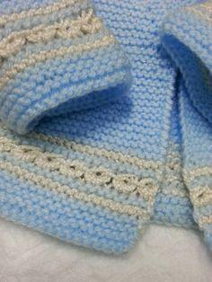 emilia y sus labores de punto: chaquetita básica bebé                                                                                                                                                     Más