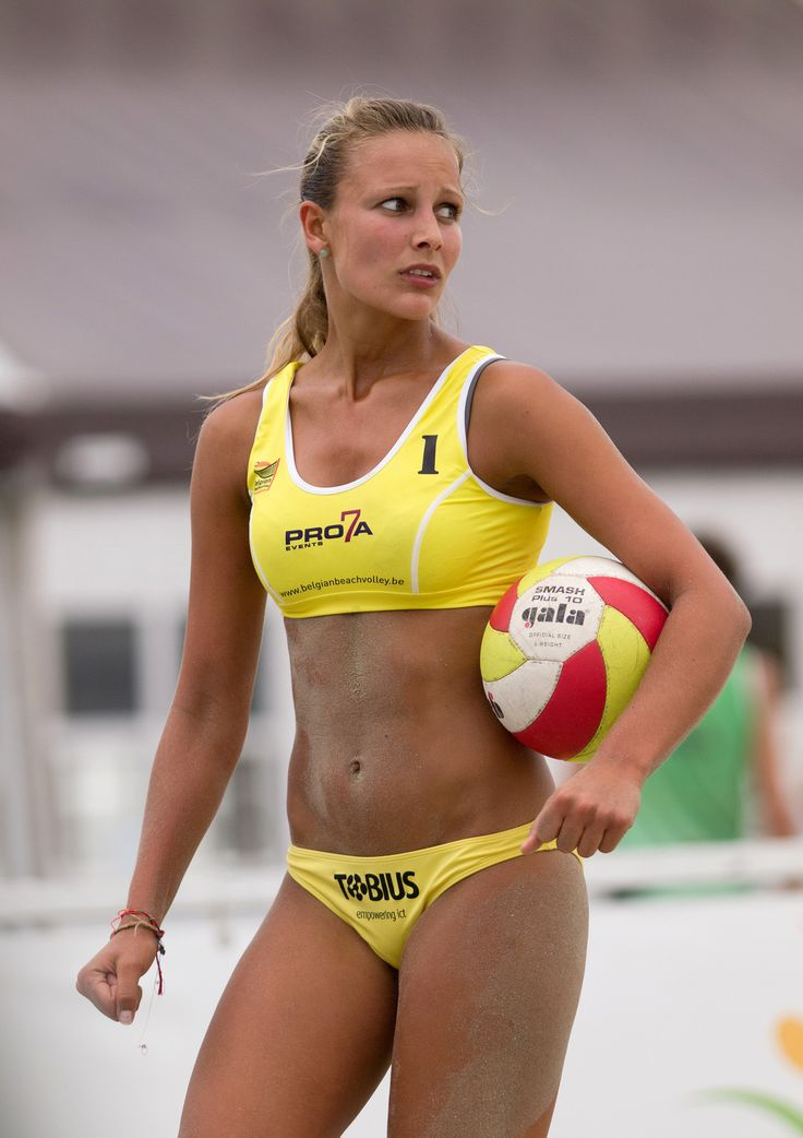 Nude women beach volleyball oops