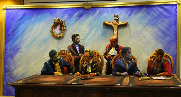 um apontamento teatral que pretende reviver a primeira reunião da Câmara de Valongo de 1837   Ficha artística e técnica Texto, encenação e espaço cénico HUGO SOUSA  Interpretação MÁRIO MOUTINHO, EMÍLIO GOMES, DIOGO FERREIRA, PAULO FREITAS, JAIME PACHECO E BERNARDO SANTO TIRSO RIBERIO  Pintura e maquilhagem LUÍS NOGUEIRA (BODYPROJECT TATTOO)  Figurinos CABEÇAS NO AR E PÉS NA TERRA  Produção CABEÇAS NO AR E PÉS NA TERRA