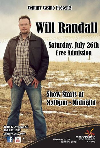 Here is a show that will fire you up! @WillRandallLive Sat July 26th 8pm @CenturyCasinoCa #LoveMeSomeTradCountry