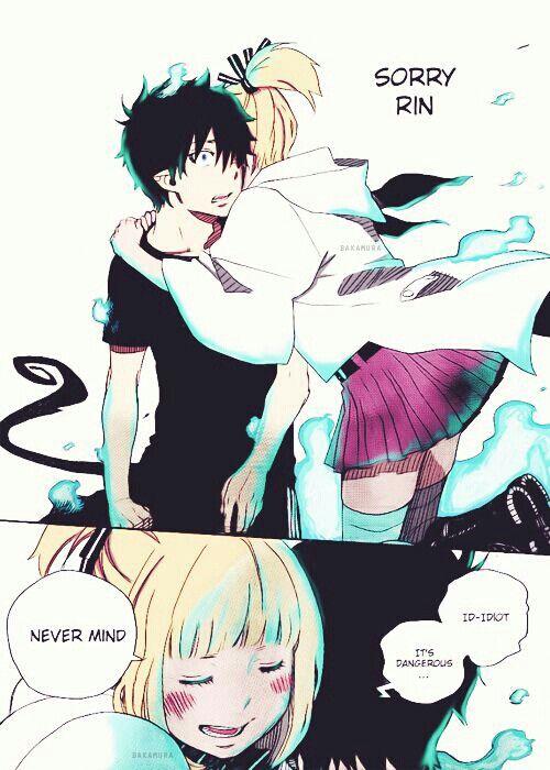 Rin and shiemi :)