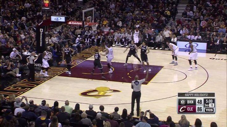Kyrie Irving finds LeBron James for the inbound Alley-Oop!