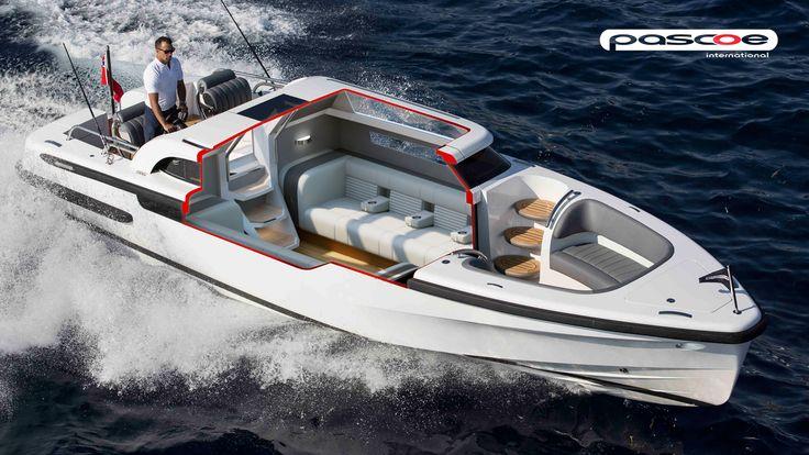 SL LIMOUSINE - ThirtyC - Pascoe pascoeinternational #superyacht #tender #yacht #design #cutaway #illustration #technical www.thirtyc.com