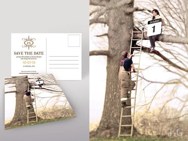 unique save the date ideas- save the date- wedding ideas- wedding invite- wedding party app blog