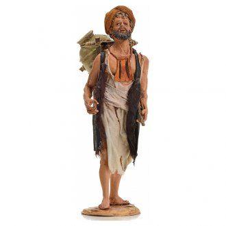 Pastore con anfora 18 cm Angela Tripi terracotta | vendita online su HOLYART