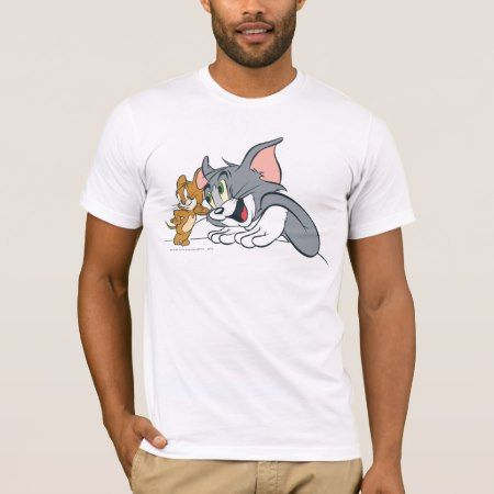 Tom and Jerry Best Buds T-Shirt - click to get yours right now!
