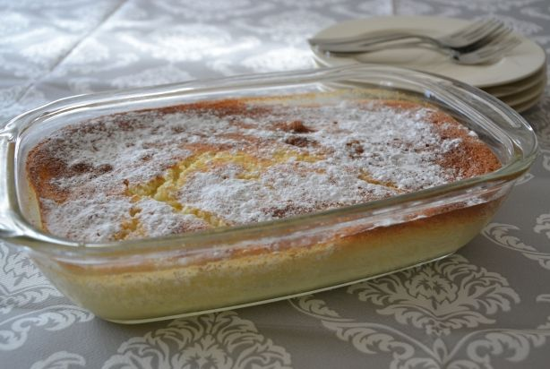 Hemelse Citroen cake/pudding