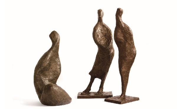 【EXPO】【Galerie Hayasaki Paris】梅鉢晶代彫刻展Akiyo Umebachi / Courbes et torsions : フランス落書き帳