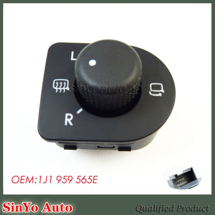 Cool Great New POWER MIRROR SWITCH Fit For VW BEETLE GOLF JETTA PASSAT 1J1959565E 98-10 2017-18