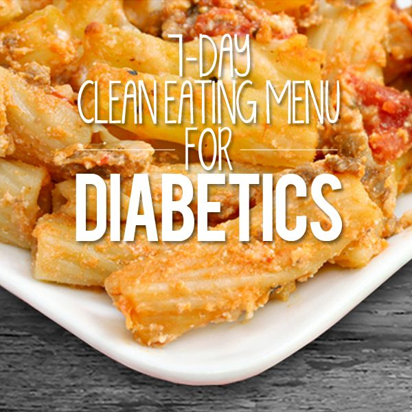 Generally, clean eating for diabetics involves keeping the amount of carbohydrates you consume in check. This menu is based on the guidelines of the American Diabetes Association. Even with dietary restrictions, it's possible to eat a versatile and delicious range of foods. Diabetics don't have to settle for a stale menu of the same old foods day in and day out.