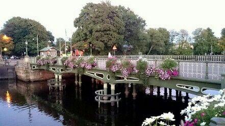 Floral Bridge in Gothenburg Sweden