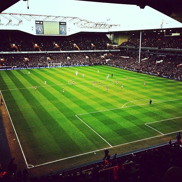 White Hart Lane Stadium in Tottenham, Greater London
