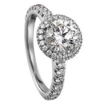 カルティエ デスティネ エンゲージメント リング - Cartier(カルティエ)の婚約指輪(エンゲージメントリング)