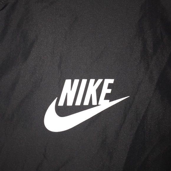 Nike windbreaker Men's black Nike windbreaker jacket. Nike Jackets & Coats Utility Jackets