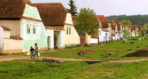 citadel at Viscri – an emblematic village for the Transylvanian Saxons.