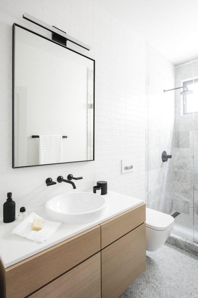 Interior Design By Courtney Trump Of Luft Design Minimal Bathroombathroom