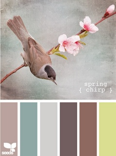 Spring Chirp.  Reminds me of a vintage color palette.