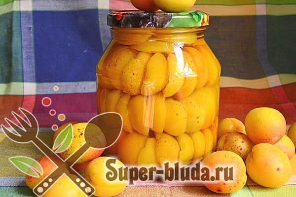Абрикосы в сиропе рецепт абрикос на зиму с фото | Заготовки на зиму