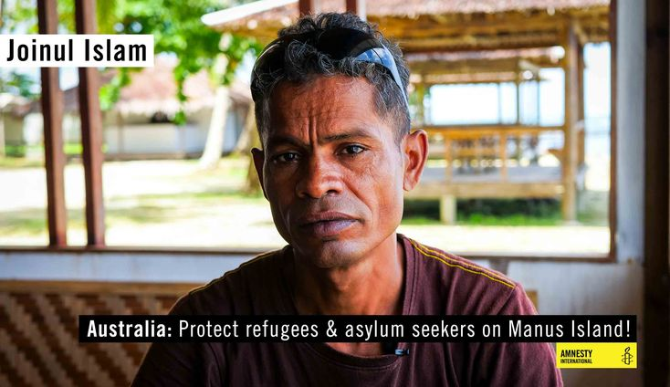 The situation is rapidly deteriorating. Last week authorities armed with sticks and knives, started to forcibly relocate refugees from the Lombrum detention centre on Manus Island. These refugees and asylum-seekers remain at further risk of violence. They fear for their safety #ActNow >>>